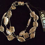 Gemini armband med budskap 139 kr