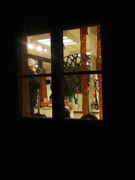 Hanteverkarna vid Helensgården hade öppet....