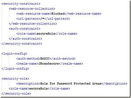securityConstraints
