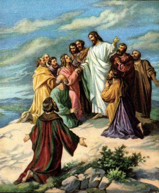 Bible Clip Art: Jesus' Death, Resurrection, and Ascension ...