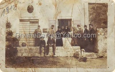 Posta u Lastvi 19012 godine
