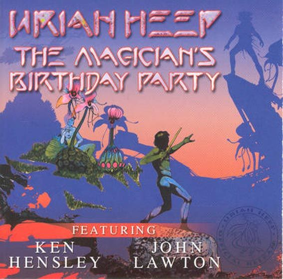 The Magician's Birthday Party - December 7, 2001 - CD cover