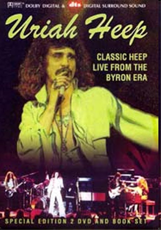 Uriah Heep: Classic Heep Live From The Byron Era Box 2004