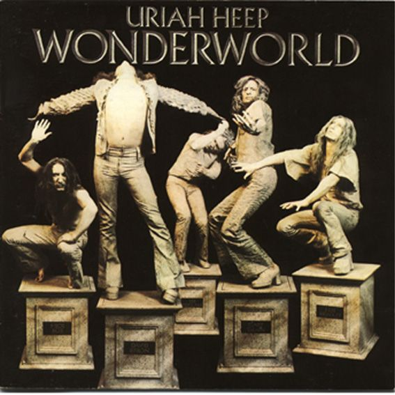 Uriah Heep - Wonderworld - 1974