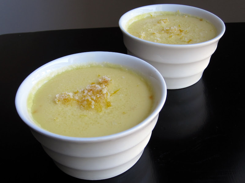 meyer lemon pots de creme