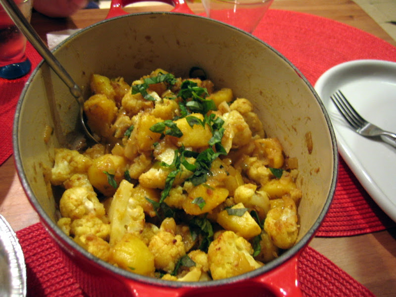 Roasted Indian Spiced Cauliflower and Potatoes | The Jersey Cook
