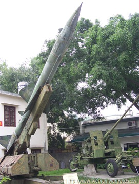 Vietnam Military History Museum Missile Launcher (2)