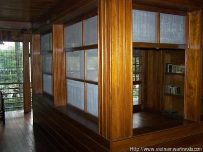 Ho Chi Minh Stilt House Bedroom & Study (2)