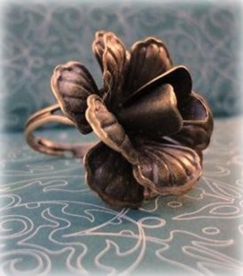 Flower-Bronze-Ring
