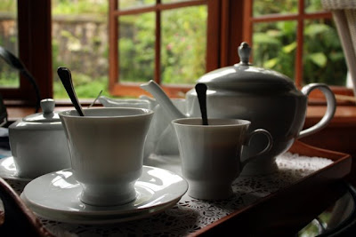 Breakfast tea at Ceylon Tea Trails in Sri Lanka