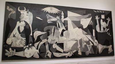 La Guernica at the Reina Sofia museum in Madrid