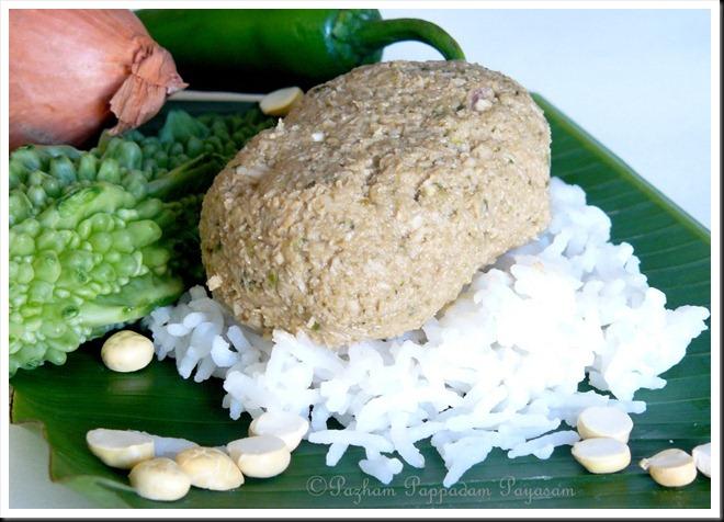 Pavvaka/bittergourd chammnathi