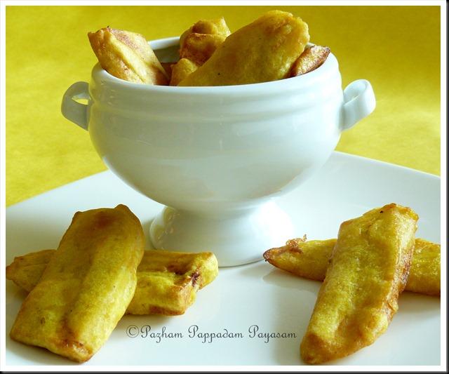 Pazham Pori / Ripe plantain fritters
