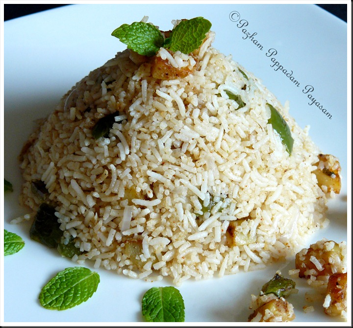 Masala potato rice