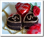EGGLESS CHOCOLATE SWEETHEART CAKE