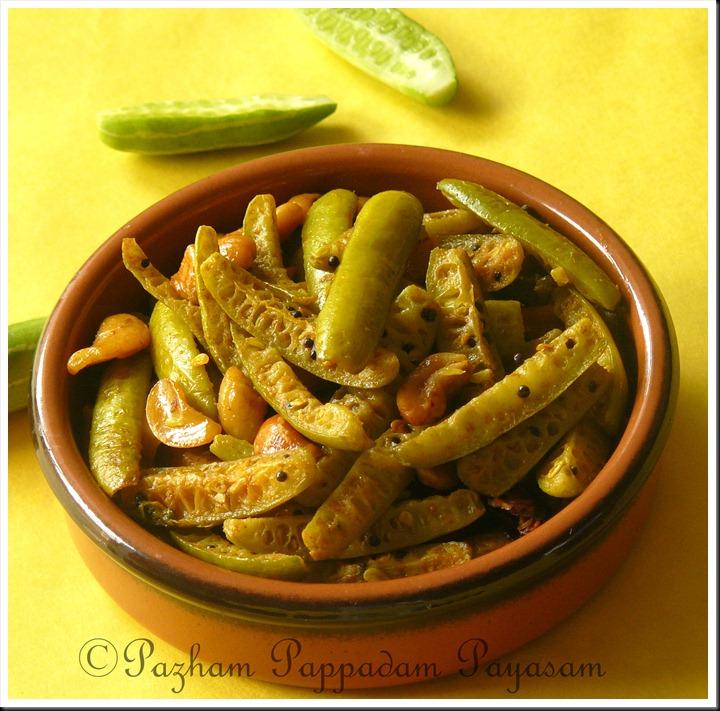 Kovakka cashew nut stir fry