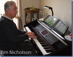 Jim Nicholson playing the Clavinova CVP-210 Limited Edition model