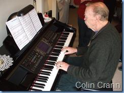 Colin Crann on the Clavinova