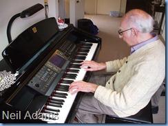 New member, Neil Adams on his Club debut. Neil has a CVP-305 himself.