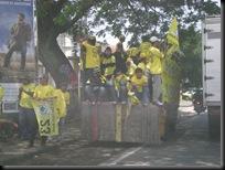 Kampanye Golkar Di Kepanjeng, Malang