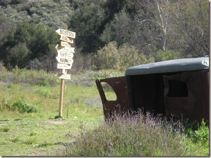 PCTR Malibu Creek MASH sign