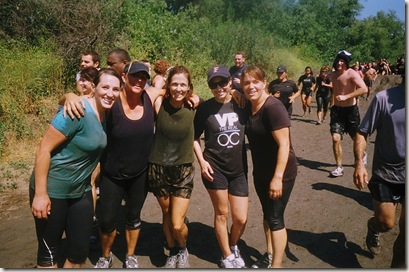 camp pendleton mud run mud pit group pic