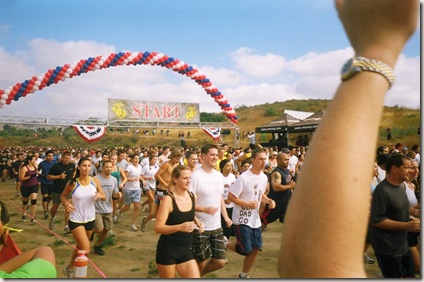 camp pendleton mud run start