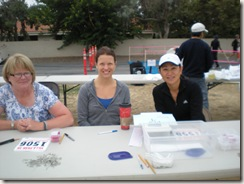 Villa Park 5K friendly volunteers