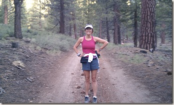 Mammoth Lake run woods