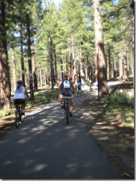 Mammoth Lakes bike ride