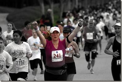 Stacey half marathon