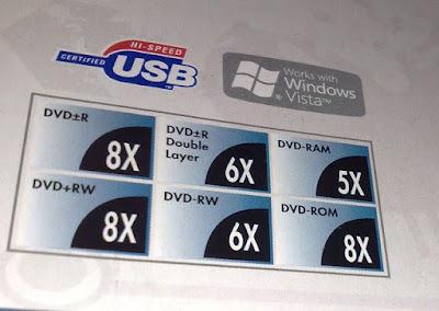 [3C]LiteOn 外接薄型8x DVD燒錄機開箱!