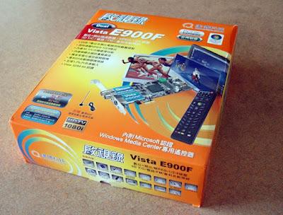 [TV]康博啟視錄E900F電視卡開盒分享