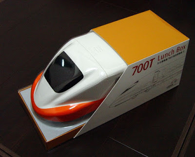 [HSR]台灣高鐵T700型車頭造型便當盒開箱分享!