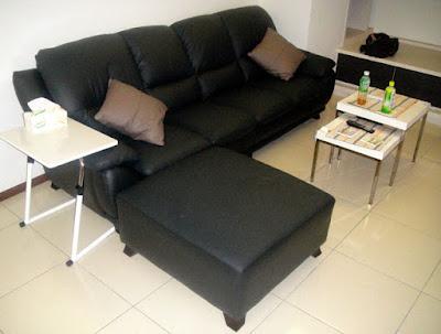[Home] 新居家具進場之一:沙發 & 床組