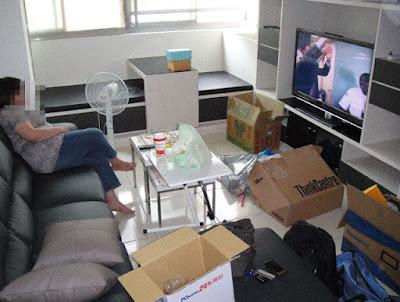 [Home] 新居家具進場之二:餐桌椅/書櫃/櫥櫃…外加熱水器!