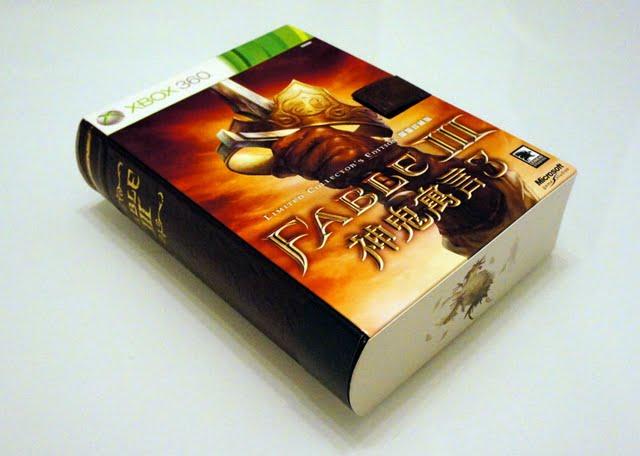[Xbox360] Xbox360年度RPG大作-《神鬼寓言3》限量珍藏版開箱分享!