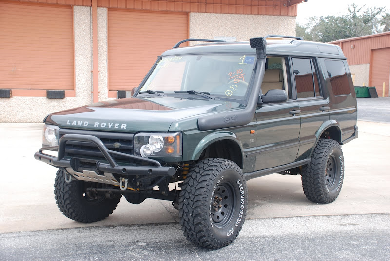 Parting 2003 Discovery With Off Road Extras Land Rover