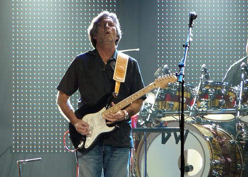 Frase da semana &#8211; Eric Clapton diz no ser f de sua prpria voz: &#8220;Odeio meu canto&#8221;