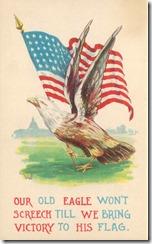 VictoryFlagPostcard