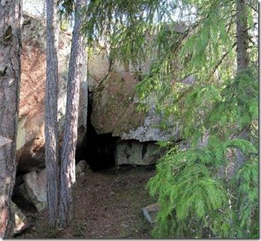 Tjenstugan eller grottan i Gesterby