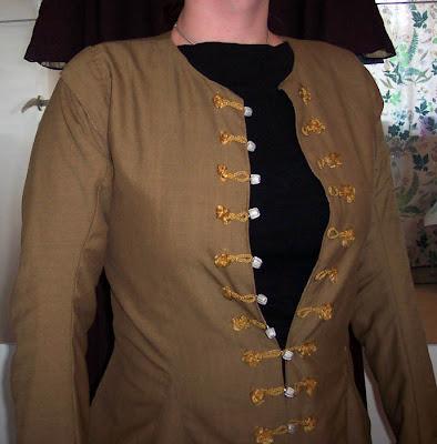 The Waistcoat Finished