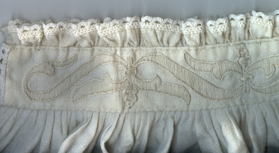 Finished Whitework embroidery