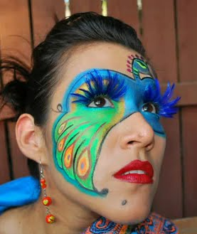 MAQUILLAJE DE CARNAVAL: ANTIFAZ PAVO REAL (Video)