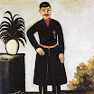 N.Pirosmani. Portrait of Alexander Garanov.