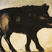 N. Pirosmani. Boar.