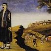 N. Pirosmani. Kakhetia Sagas. Alazan Valley.