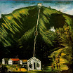 N. Pirosmani. The Tiflis Funicular.