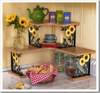 Sunflower-kitchen-decor