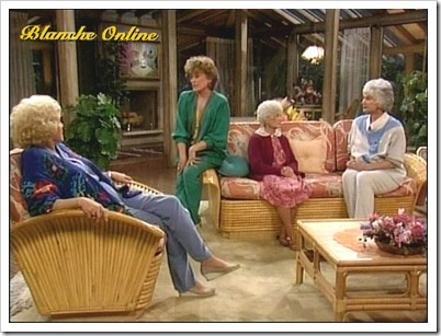 ... The Golden Girls In Living Room